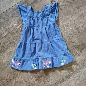 3/$15 Gap toddler girl dress size 12-18 m